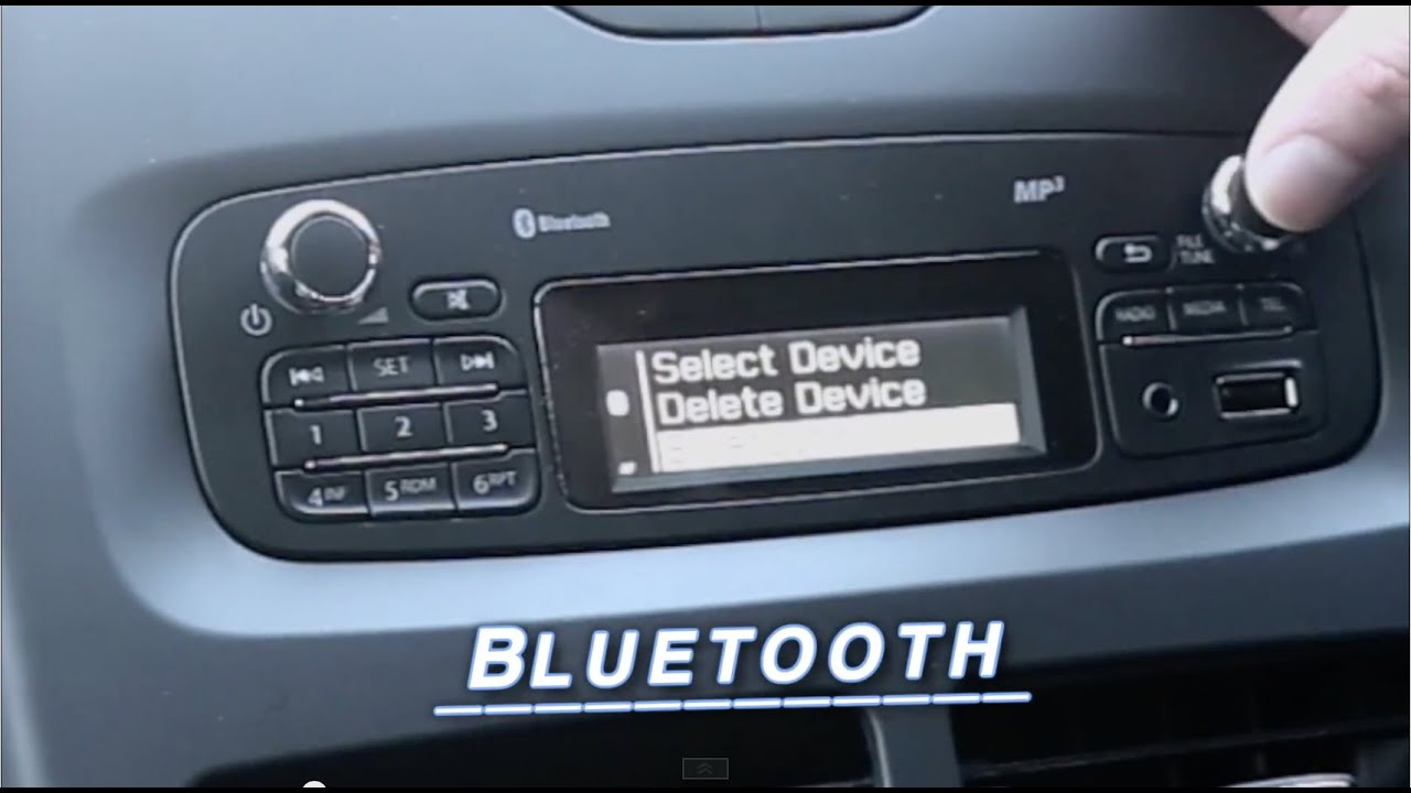 How To Pair Bluetooth Phones To Car Radios