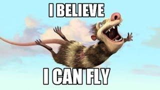 "Караоке песни ""I believe i can fly"""