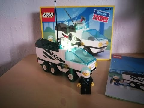 Heti videó: 14# Lego Town- 6430 Night Patroller