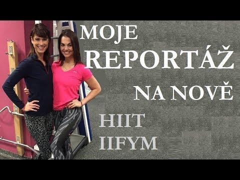 TV nova - Víkend | Jak jíst, cvičit a zhubnout | HIIT | IIFYM | Eliška Bicanová