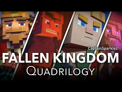 Fallen Kingdom Quadrilogy: Fallen Kingdom, Take Back The Night, Find The Pieces, & Dragonhearted
