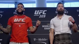 UFC 209: Media Day Faceoffs