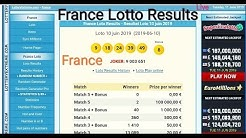 France Lotto Live // France Lotto Lottery Results // France Lotto Draw Live Today
