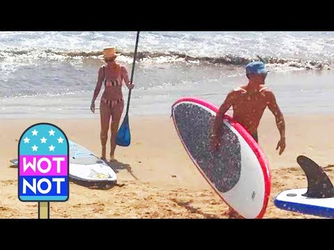 Katy Perry & Orlando Bloom Back Together Paddleboarding! Picture Exclusive