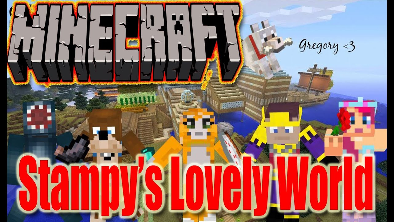 Minecraft map showcase stampys lovely world download link minecraft map showcase stampys lovely world download link youtube gumiabroncs