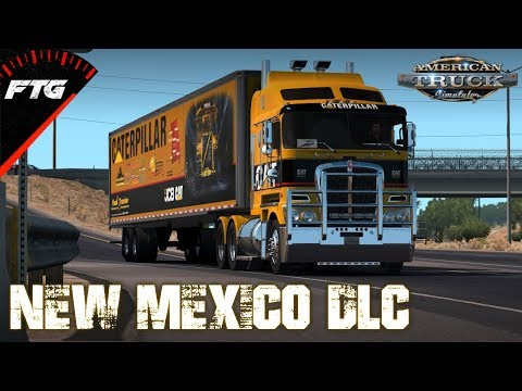 HAULING NEW MEXICO DLC | w/Wheelcam and SKRS Shifter | AMERICAN TRUCK SIMULATOR