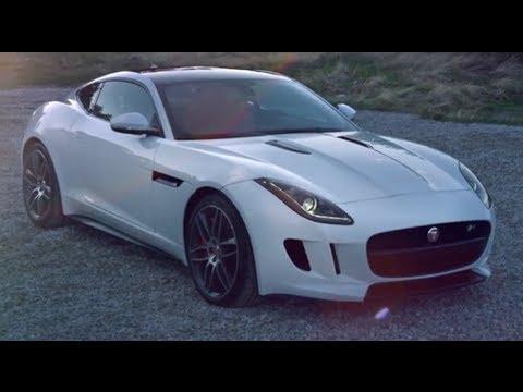 Jaguar F Type R Coupé 550PS 5.0 Litre HD 2014 Cool First Commercial Carjam  TV HD Car TV Show