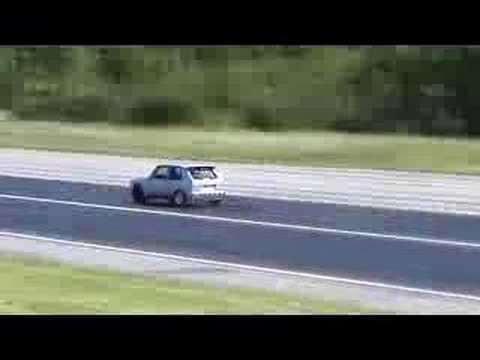 VW Golf mk1 VR6 Turbo 10.05 1/4mile