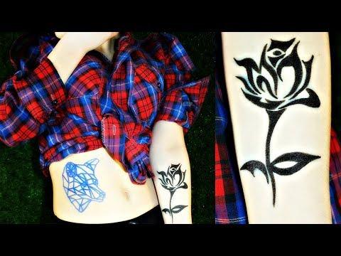 Как сделать чтобы переводная татуировка держалась дольше
