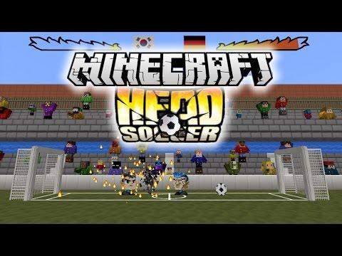 DU FOOTBALL SUR MINECRAFT !  Head Soccer