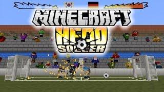 DU FOOTBALL SUR MINECRAFT ! | Head Soccer