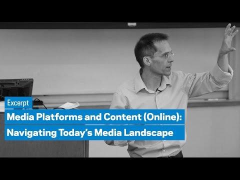 Media Platforms and Content (Online) Program: Excerpt