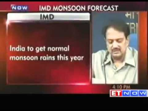 IMD - India to get normal monsoon rains this year