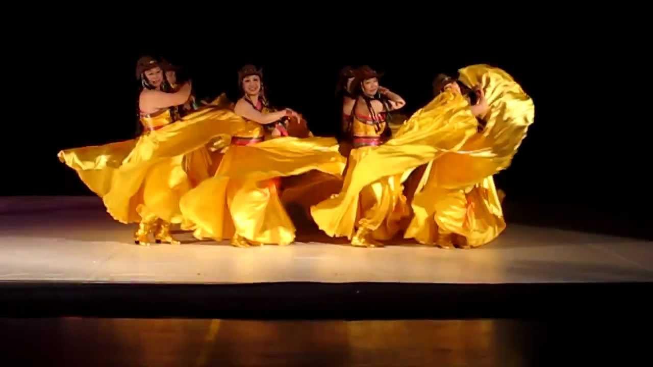 跑马溜溜的山上舞蹈_匈牙利东方艺术团参赛表演舞蹈《跑马溜溜的山上》(2012-03-18 ...