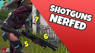 How To Play With The Shotgun Nerf   Fortnite Update