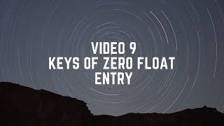 Video 9 Kunci zero float