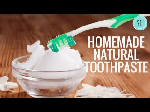 Homemade Natural Toothpaste| DIY |Simple Frugal life