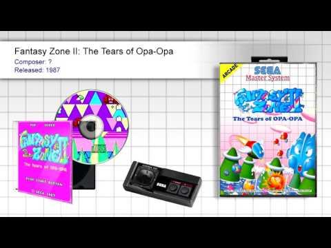 Fantasy Zone II: The Tears of Opa-Opa (Full OST) - SMS