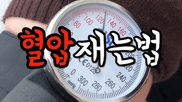간호사가 알려주는 혈압재는법, 정상수치 (간호학과 필독)