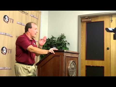 Jimbo Fisher's Weekly Press Conference - Post-UF, Pre Ga. Tech