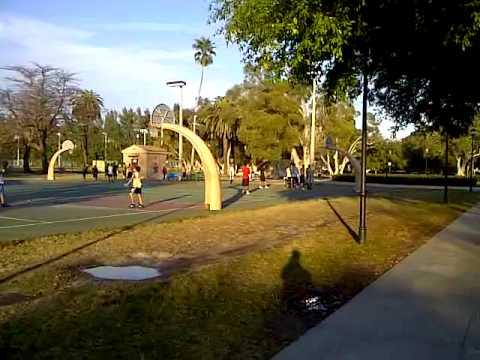Flamingo Park Basketball Courts Miami Beach