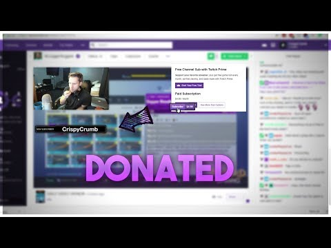 SUBSCRIBING TO MCJUGGERNUGGETS TWITCH STREAM LIVE!