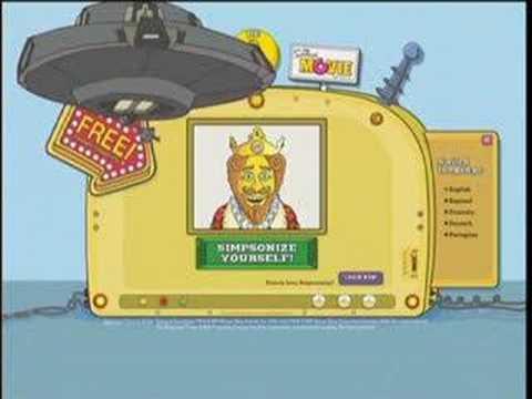 Burger King Simpsons Youtube