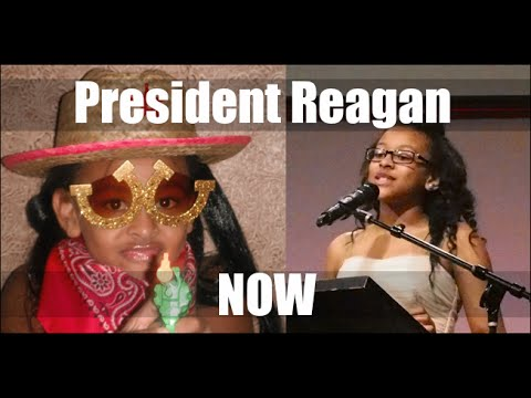 Reagan Speaks: Best 5th Grade Graduation Speech Ever - YouTube