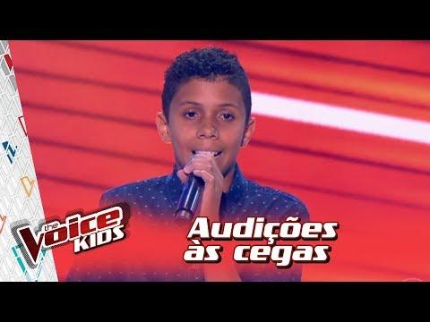 Guyllerson Dias canta 'Mercedita' na Audição – 'The Voice Kids Brasil' | 3ª Temporada
