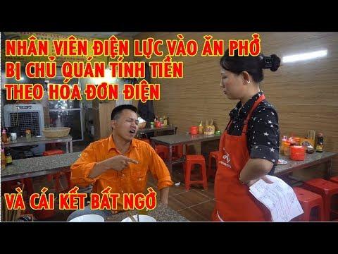 Nhân Viên điện Lực Vào ăn Phở Bị Tính Tiền Kiểu Giá điện Và Cái Kết | Thành Xeko - Mir Kun