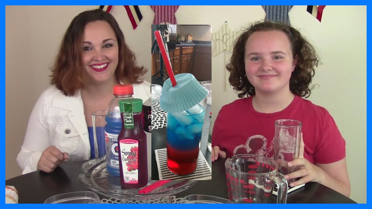 How to make red white and blue layered kids drinks for 4th of july how to make red white and blue layered kids drinks for 4th of july voltagebd Choice Image