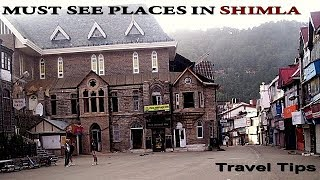 SHIMLA travel guide and tips in hindi
