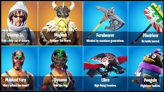 Fortnite - NEW SKINS, GLIDERS, PICKAXES & More On The Way! Magnus, Forebearer, Chomp Sr (Season 5)