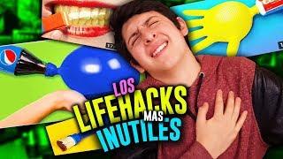 Probando los LifeHacks más RIDÍCULOS de Internet! #2
