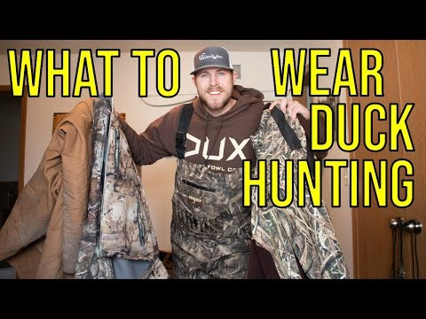 What I Wear When Duck Hunting