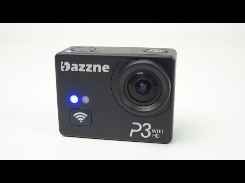 Dazzne P3 1080p60 WiFi Action Cam - Full Review with Downloadable Sample Clips