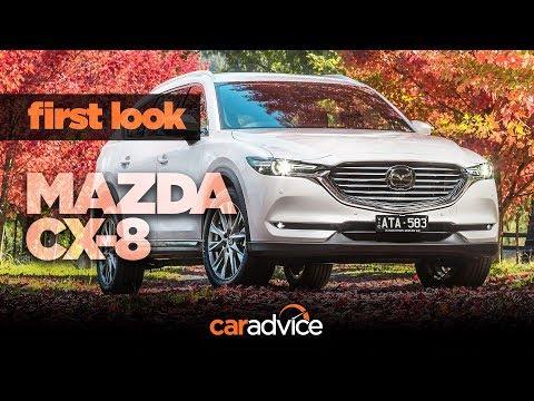 2018 Mazda CX 8 review First look at equipment and comfort