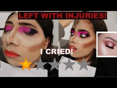 I WENT TO THE WORST REVIEWED MAKEUP ARTIST IN LONDON | BEDFORD *she knew me* thumbnail