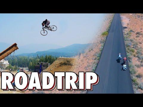 Du Mexique au Canada en VTT FREERIDE ! (ft Into The Ride)