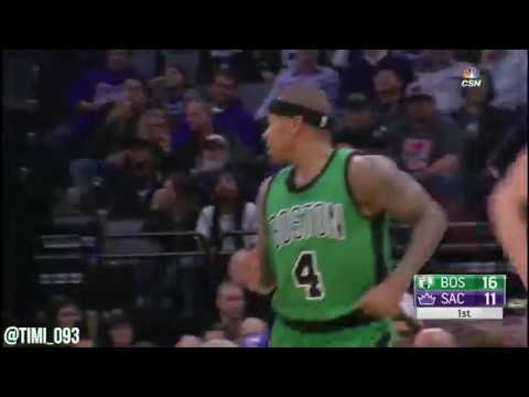 Isaiah Thomas Highlights vs Sacramento Kings (26 pts, 7 ast)