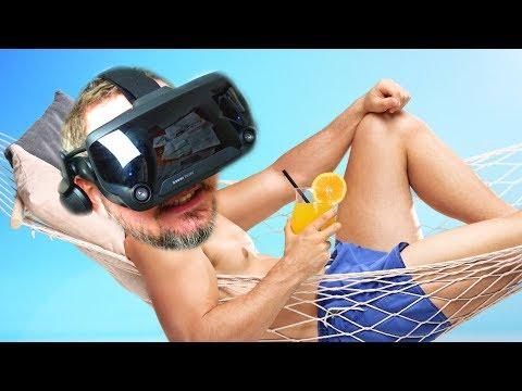 AAAAHH SOMMERFERIE! - Vacation Simulator VR [Valve Index]