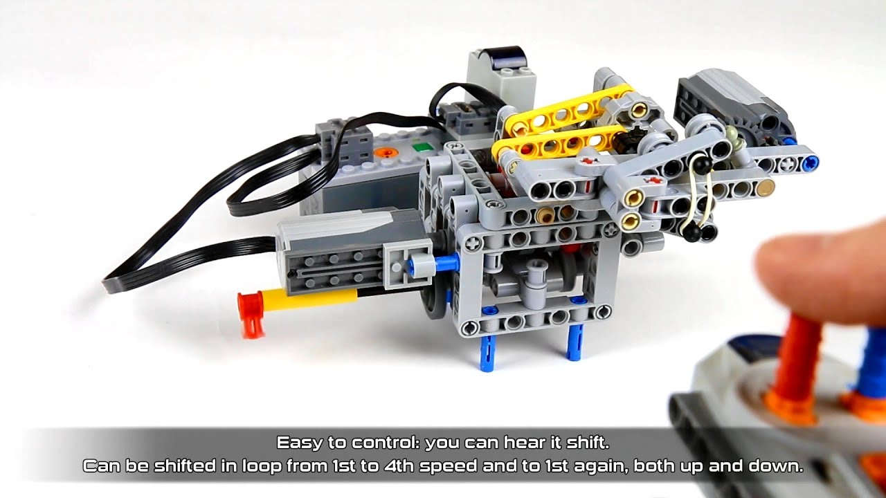 Sariel pl » 4-speed Sequential Transmission With Stepper Shifter