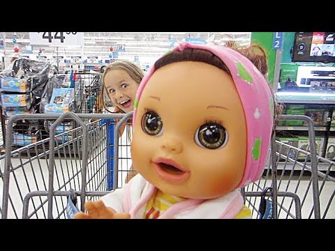 Shopping With Baby Alive Real Surprises Baby Doll At