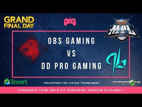 OBS Gaming vs DD Pro Gaming | MPL-PH Finals + Giveaway (Talo sila Z4pnu)