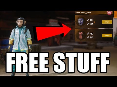FREE SKINS IN PUBG MOBILE 0.9.0 | 100% OFF Bargain PUBG Skins