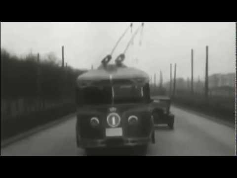 Киножурнал 'Наука и техника' №11/39 (1933). Первый советский #троллейбус - Видео онлайн