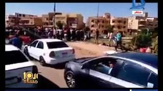 العاشرة مساء|بالفيديو جريمة قتل بشعة تهز مدينة الرحاب مقتل عامل الشاى على يد امين الشرطة