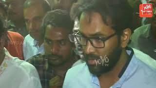 Manchu Vishnu Wife Crying At YS Vivekananda Reddy | Mohan Babu | YOYO AP Times