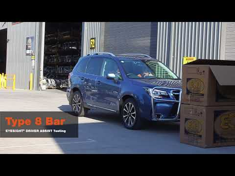 ECB testing the EyeSight™ - Subaru Forester (01/2016 - on) XT Models