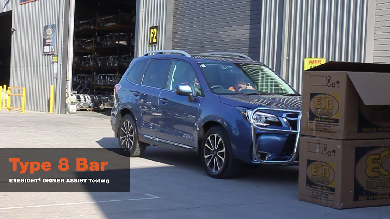 Ecb Testing The Eyesight Subaru Forester 01 2016 On Xt Models